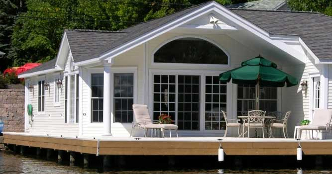 Summit Pointe Builders | boat house