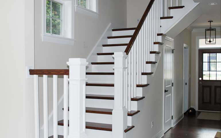 Staircases | Summit Pointe Builders