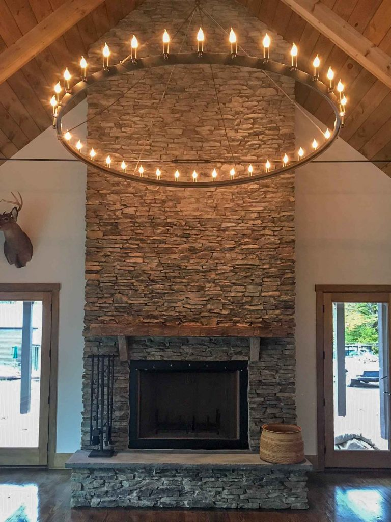 Fireplace Interiors | Summit Pointe Builders
